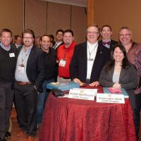 CCIM Pinning Ceremony in Denver 2013 with the WA Chapter.